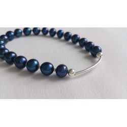 Night(blue) braclet