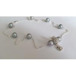 Silver fox, necklace