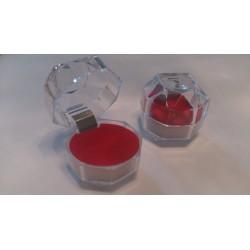 Pärlitilk värviline sõrmus
