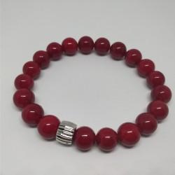 Red pearls braclet