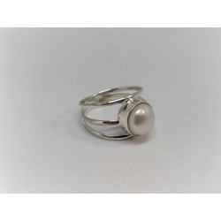 Big pearl, ring