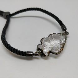 Mäekristall siidine käevõru