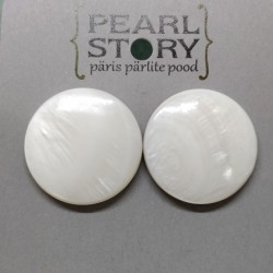 Shell retro earrings