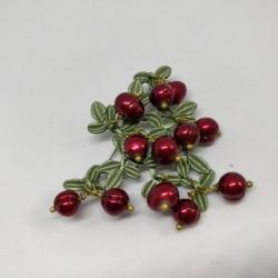 Cranberries brooch