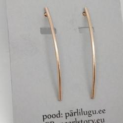 Long stick stud earrings